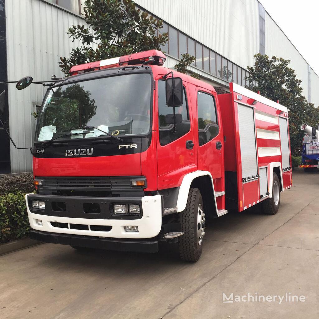 new ISUZU FTR fire pump