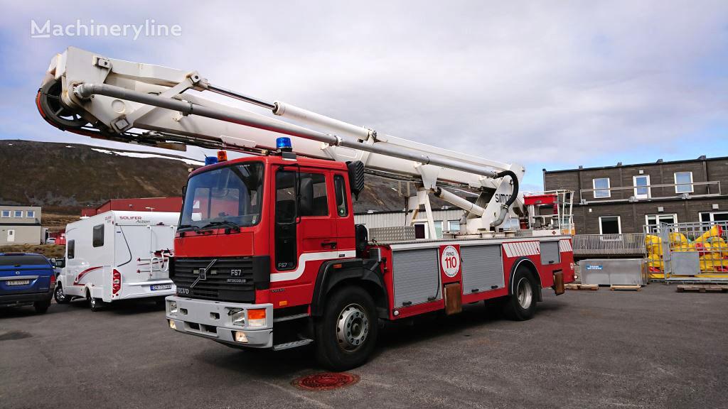 VOLVO FL 617 4x2WD fire truck