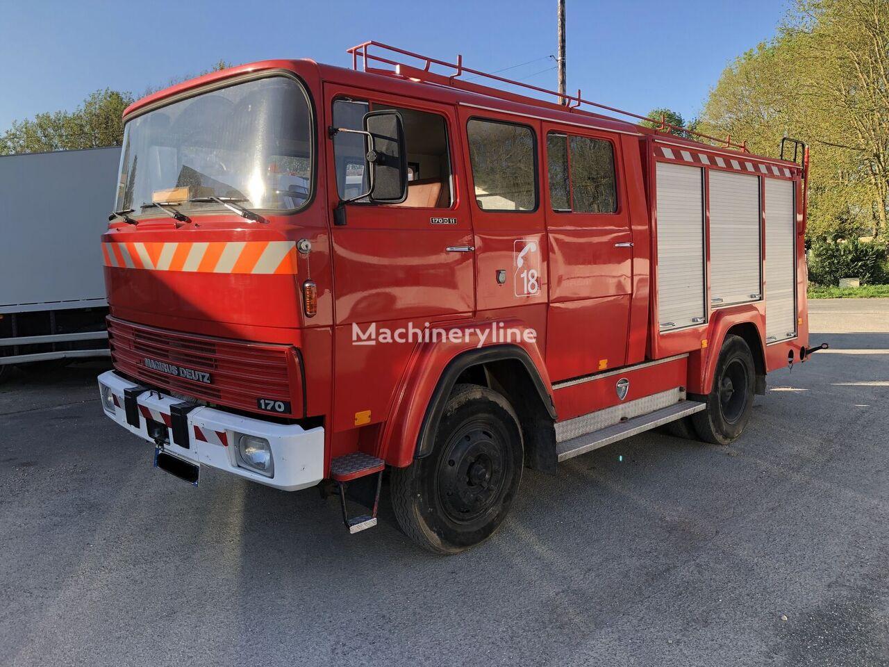MAGIRUS-DEUTZ 170D19 fire truck