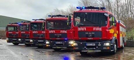 MAN 15.240 fire truck