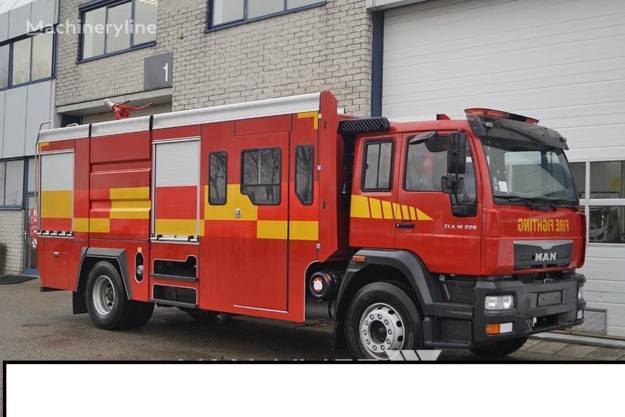 new MAN CLA fire truck