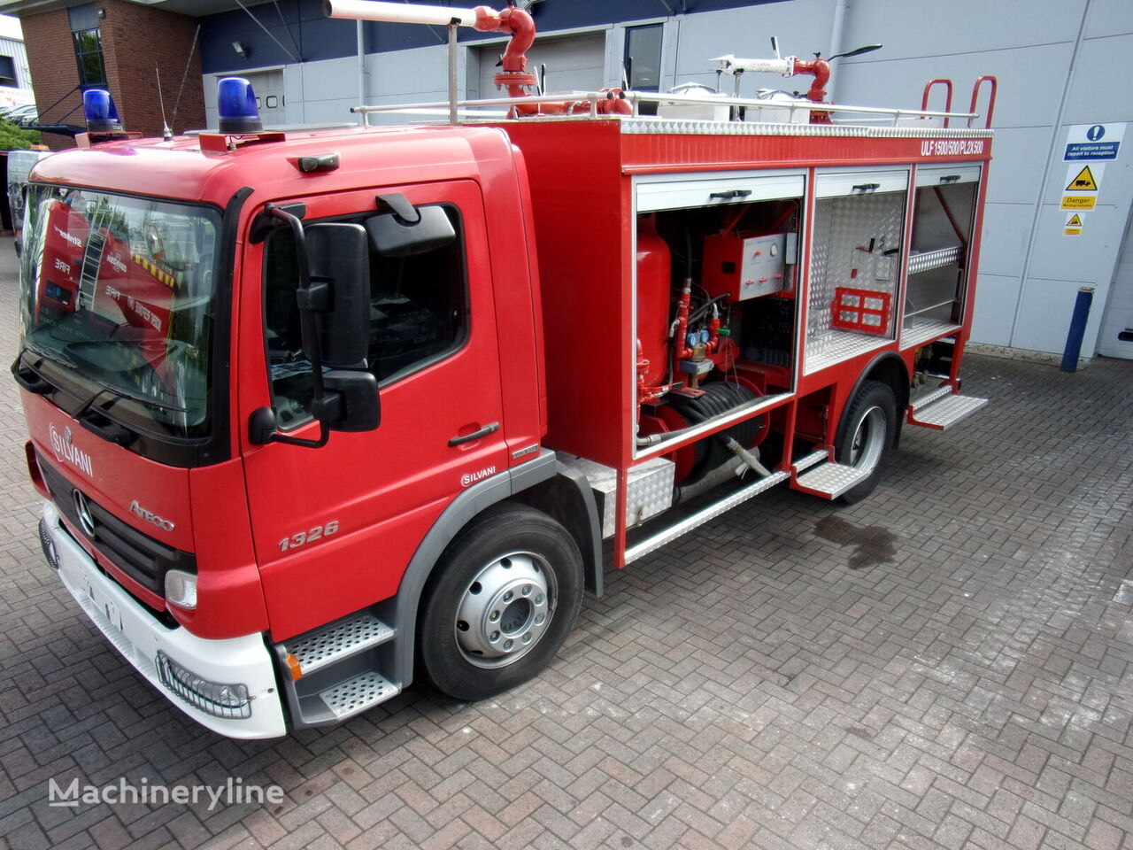 new MERCEDES-BENZ Atego 1326 fire truck