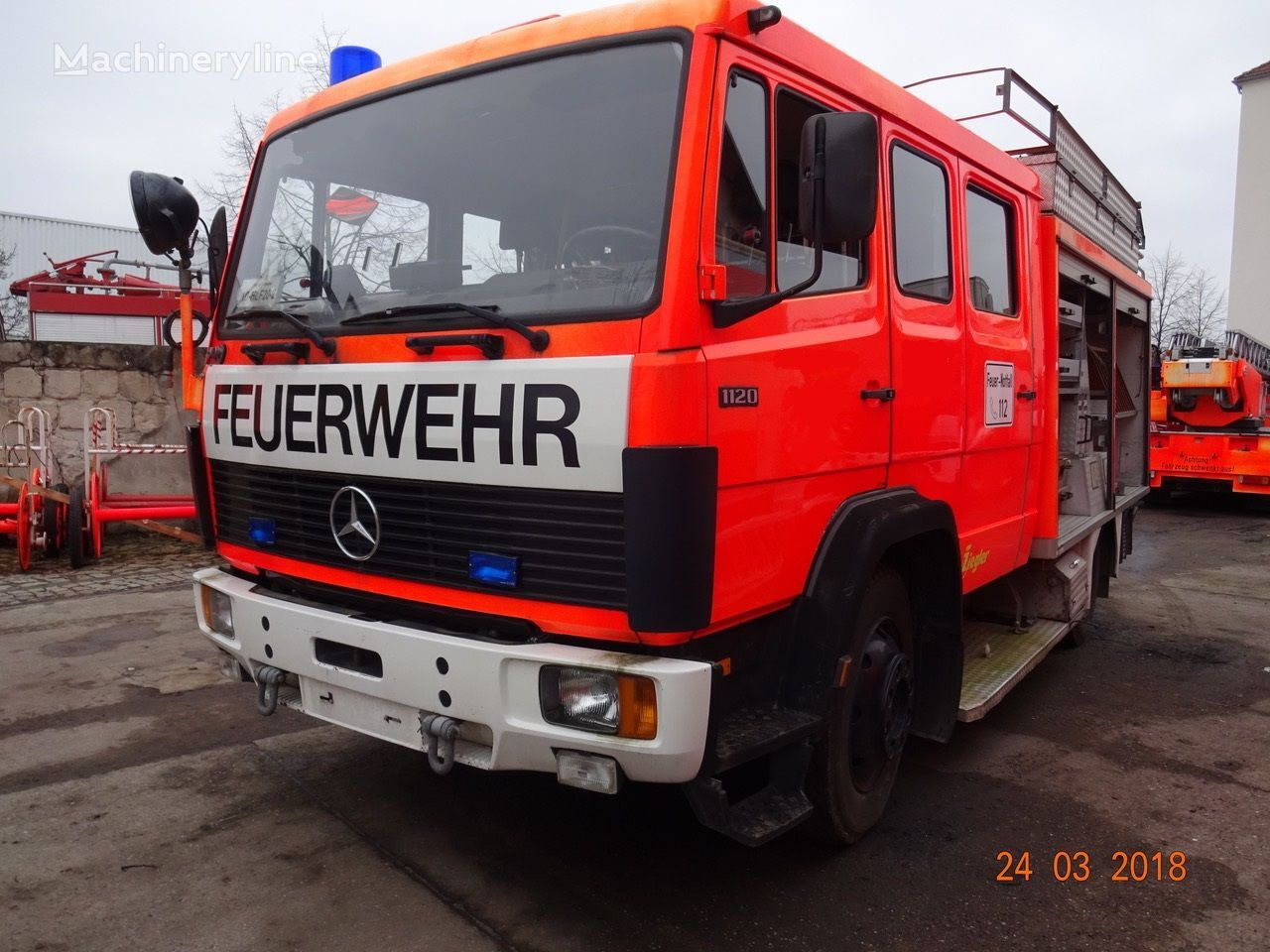 MERCEDES-BENZ Löschfahrzeug Typ 1120 fire truck