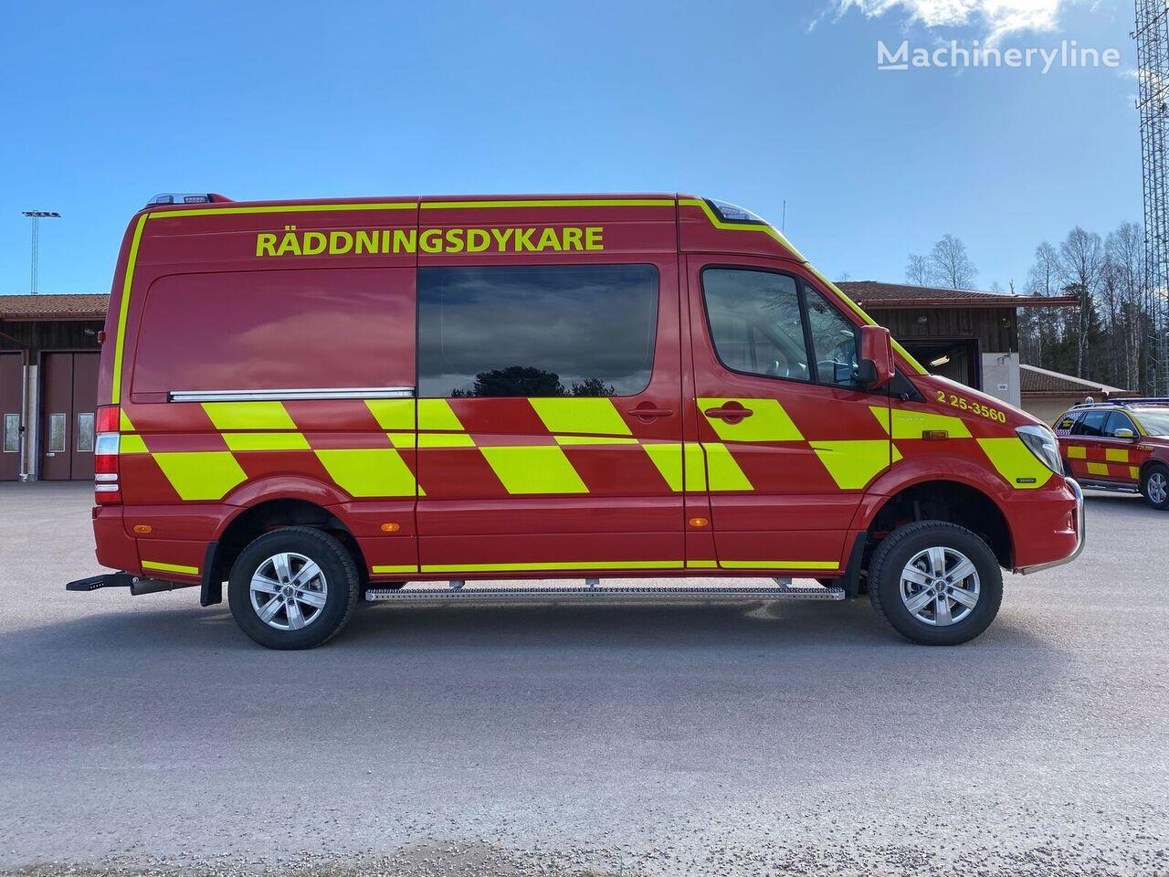 MERCEDES-BENZ Sprinter 319 906 AC35/4 - fire vehicle  fire truck