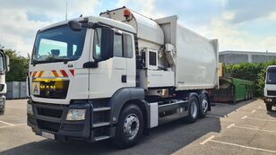 MAN TGS 26.320 LL 6x2 Müllwagen / Seitenlader garbage truck