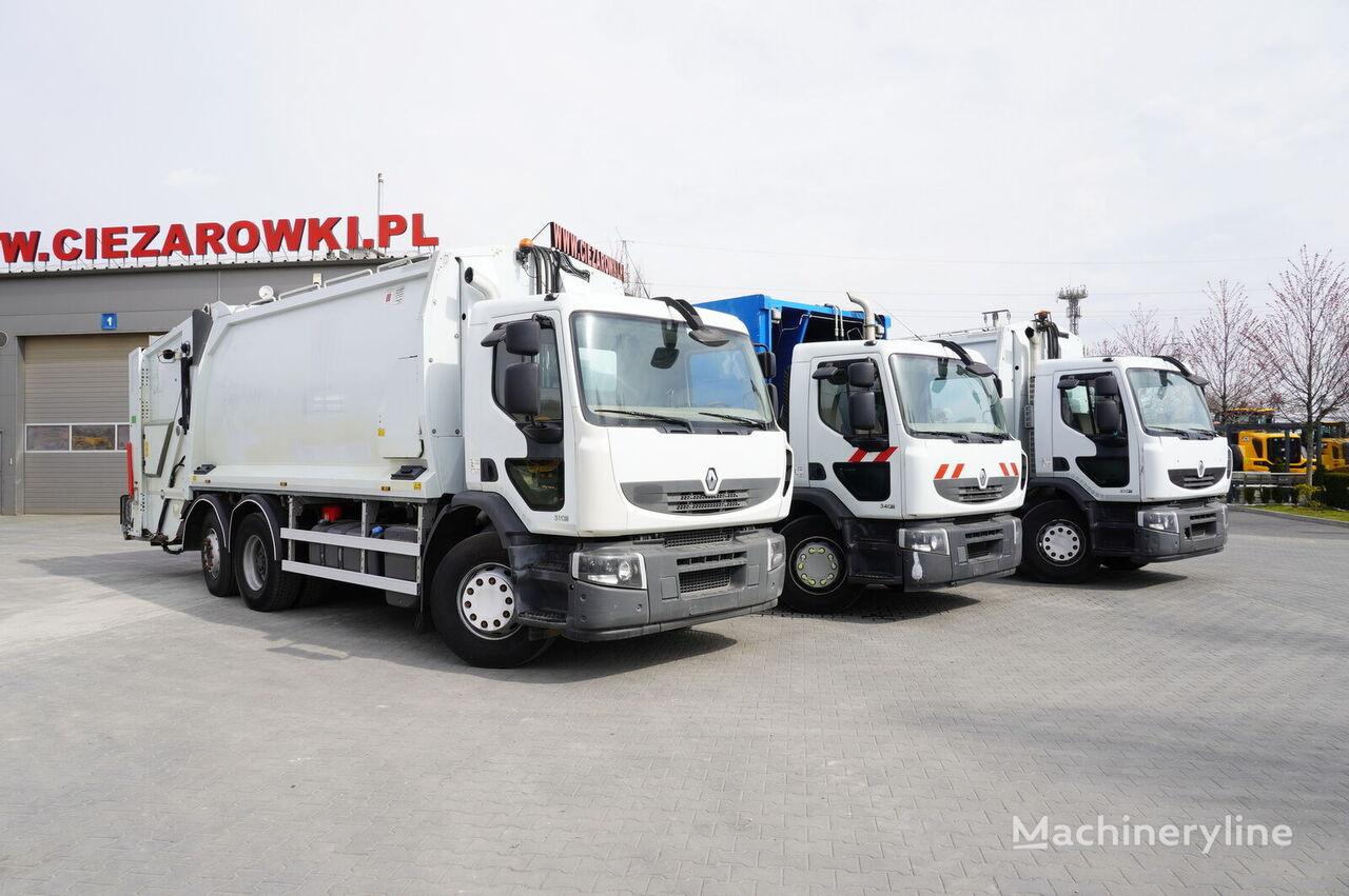 RENAULT Premium 310/340DXI , E5 , 6X2 , 3 UNITS , Gessinknorba 21m3 , st garbage truck