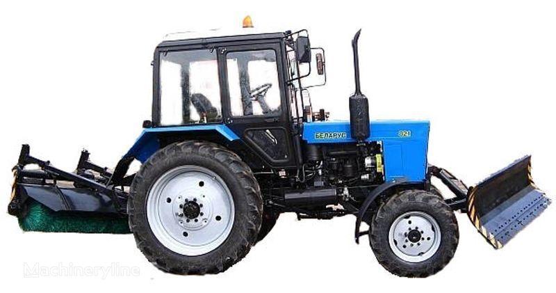 MTZ BAM-2 (otval+shchetka)na traktorah MTZ other municipal vehicles