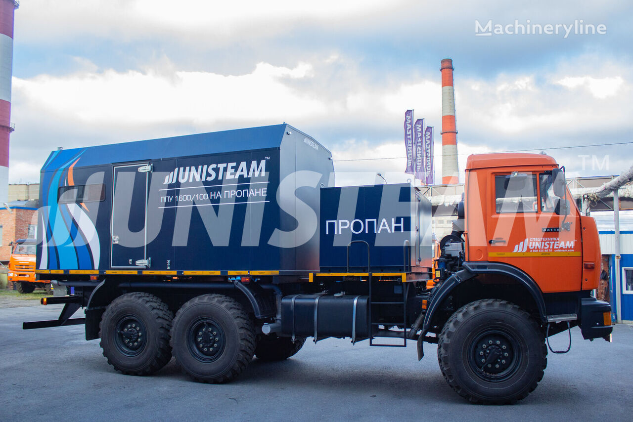 UNISTEAM PPUA na propane serii UNISTEAM-M2UG KAMAZ 43118 other municipal vehicles