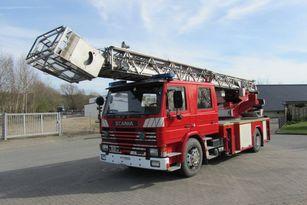 SCANIA 82M Doppelkabine rescue hydraulic platform