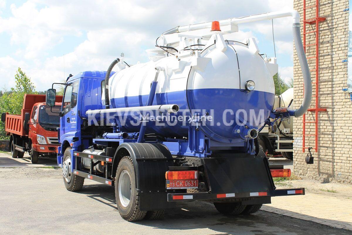 new FOTON KVV-70 sewer jetter truck