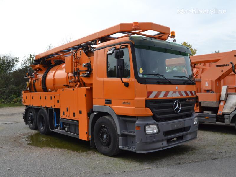 MERCEDES-BENZ Actros 2536 L 6x2 / Assmann 12,0/228 P II sewer jetter truck