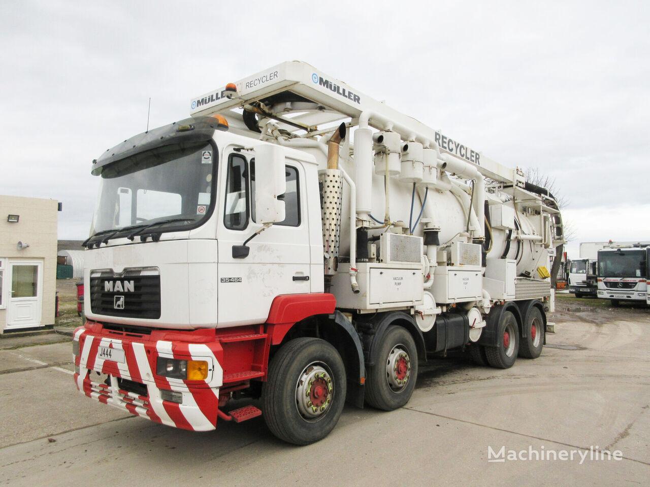 MAN 35.464 vacuum truck