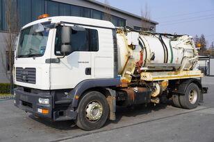 MAN TGM 18.240 , 4x2 , VACUUM PUMP , Flurry cistern 7,000l , sleep c vacuum truck