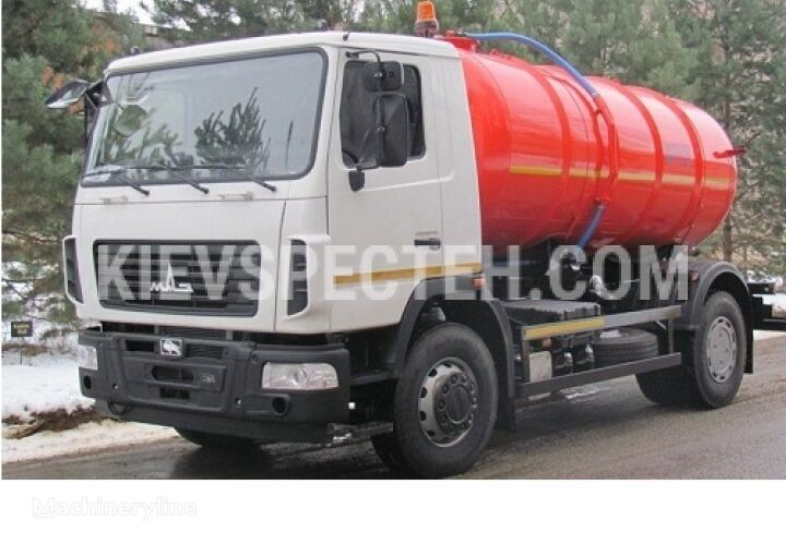 new MAZ 5340S2  SPEC-9 vacuum truck