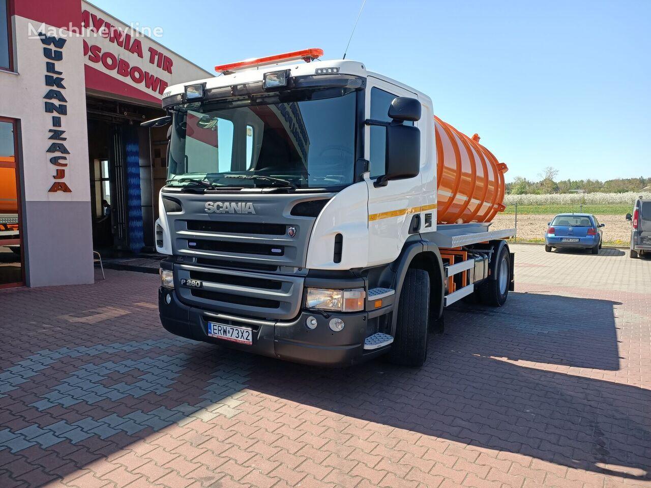 SCANIA P280 VACUM vacuum truck