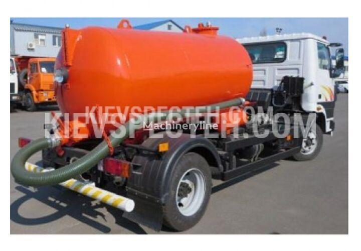 new SPEC-4 na shasi Tata LPT-613 vacuum truck