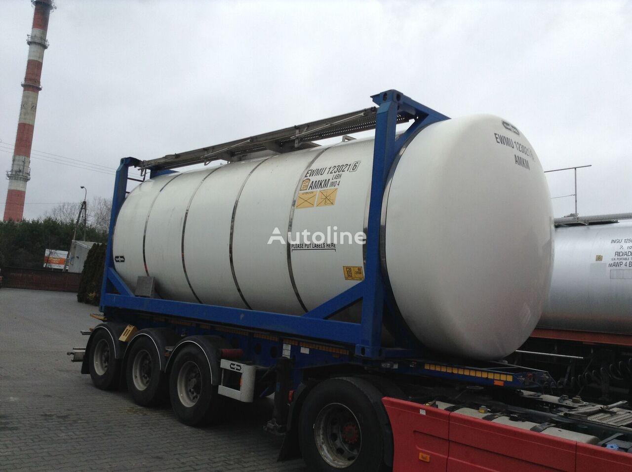 VAN HOOL ADR 20ft tank container