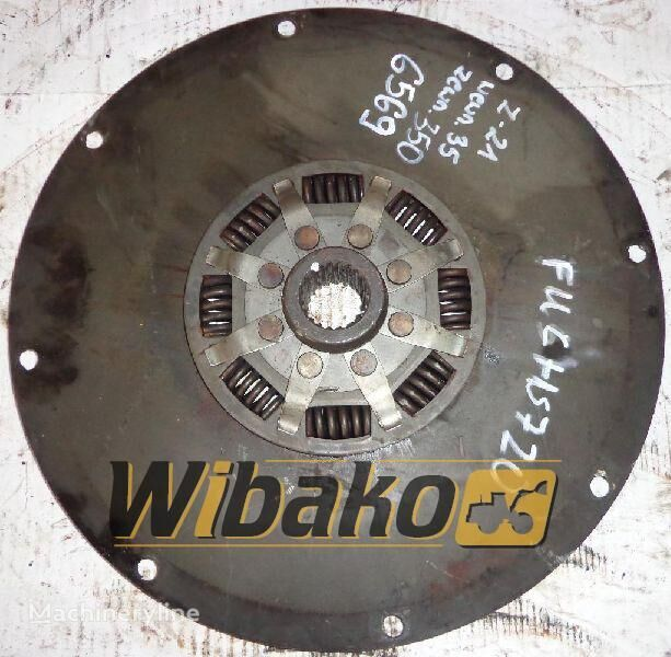 F&S (21/35/350) clutch plate for FUCHS 720 excavator