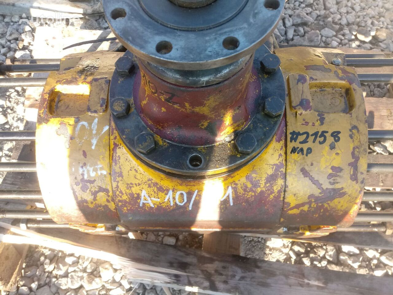 Clark Hurth Mecalac 16DX differential for LIEBHERR wheel loader
