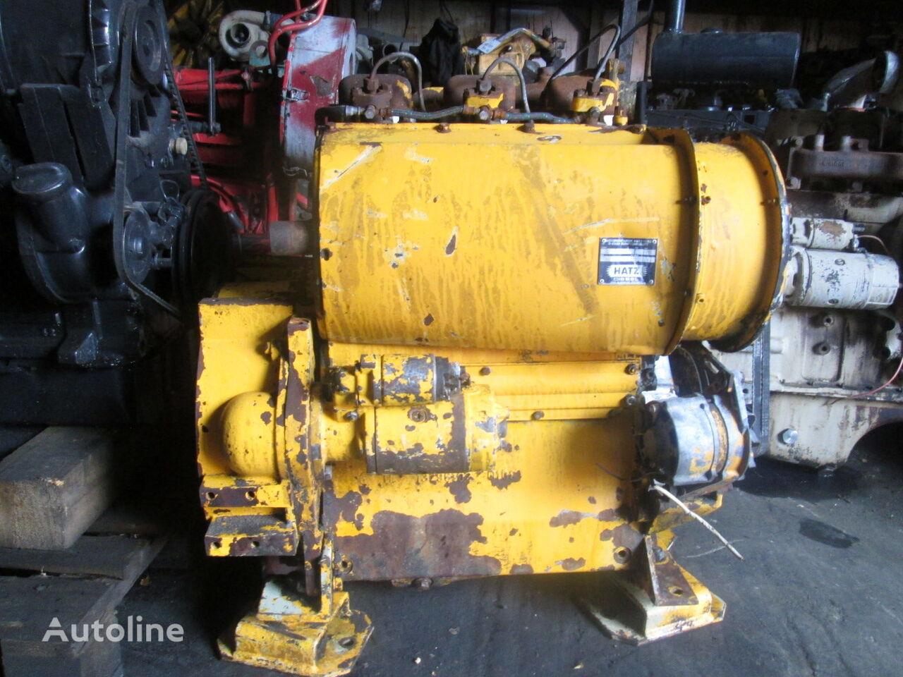 Hatz D108 engine for wheel loader