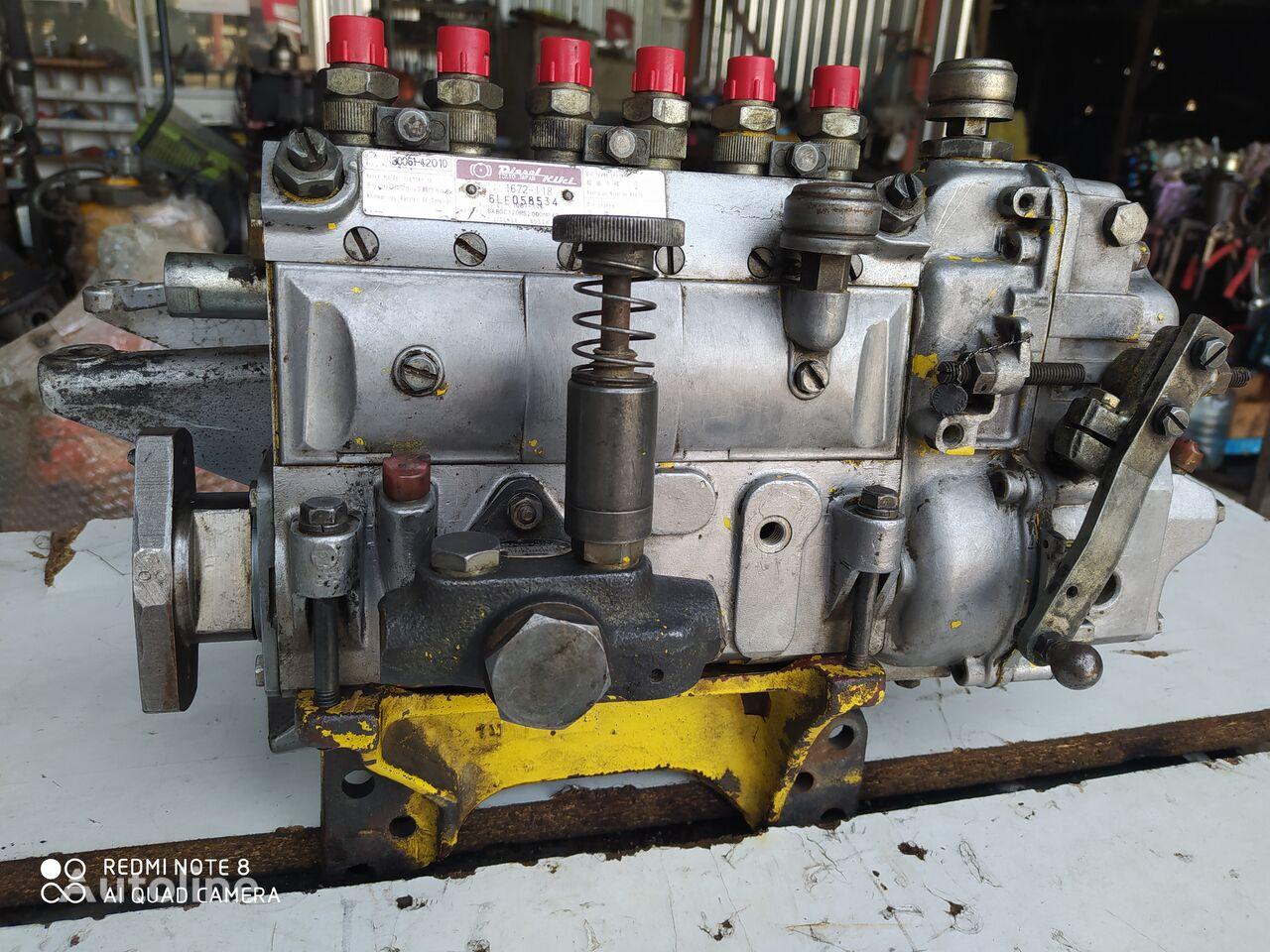 BOSCH 1672-118 (7LE078819) fuel pump for excavator