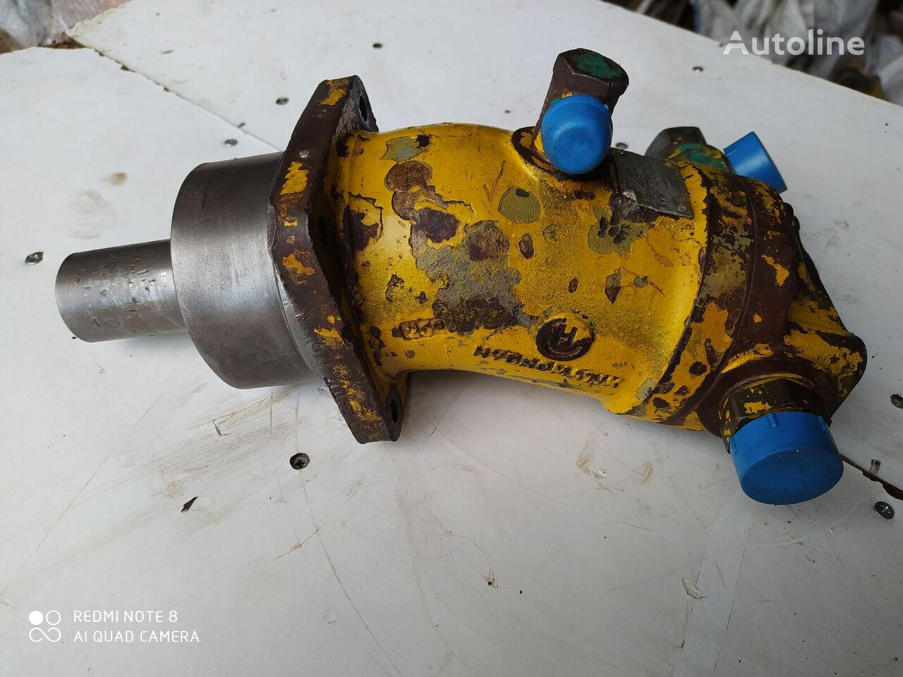 HYDROMATİC A2F hydraulic motor for construction roller