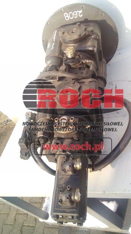 SPV23 SPV22 hydraulic pump for Walec Wibromax construction roller
