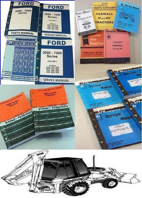 MANUAIS para Tractores instruction manual for backhoe loader