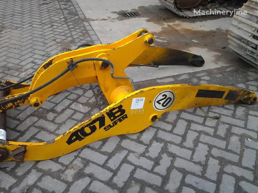 JCB 407 B ZX - Boom/Ausleger/Giek quick coupler for JCB 407BZX other construction machinery